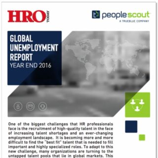 Global Unemployment Report: Year End 2016