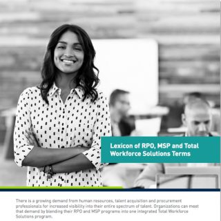 Lexicon of RPO, MSP and Total Workforce Solutions