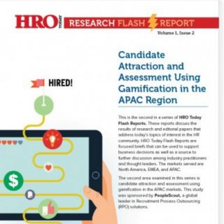 Candidate Attraction and Assessment Using Gamification in the APAC Region