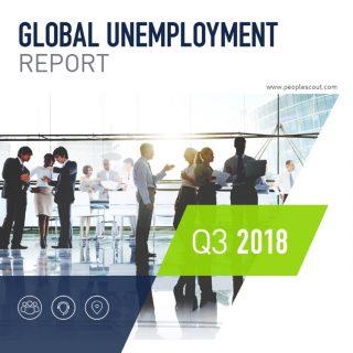 Global Unemployment Report – Q3 2018