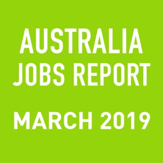 PeopleScout Australia Jobs Report Analysis – March 2019