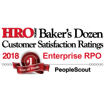 HRO Today Baker's Dozen 2018 Enterprise RPO Winner
