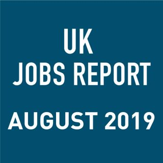 PeopleScout UK Jobs Report Analysis – August 2019