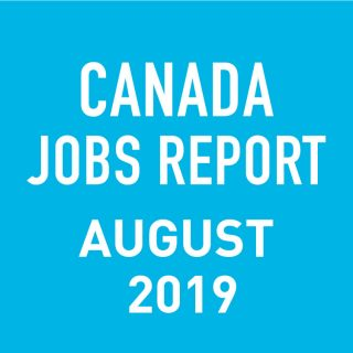 PeopleScout Canada Jobs Report Analysis – August 2019