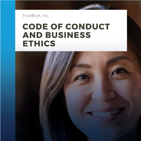 CODE OF CONDUCT & BUSINESS ETHICS – ENGLISH