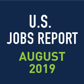 PeopleScout U.S. Jobs Report Analysis – August 2019