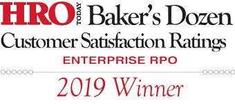 2019 HRO Today Baker's Dozen RPO