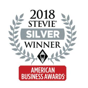 2018 Stevie Silver Winner