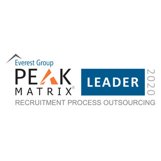 2020 Everst Group Peak Matrix RPO Leader