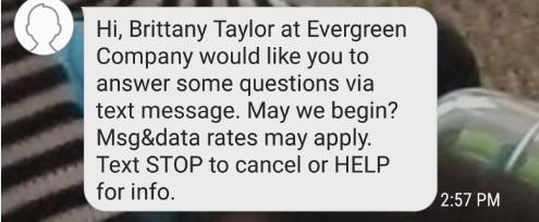 Text recruitment