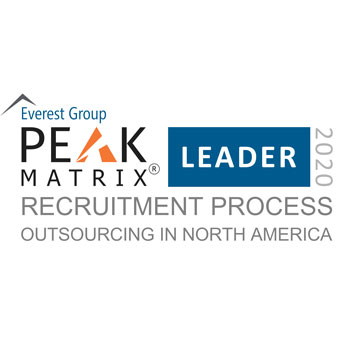 2020 Everest Group Peak Matrix RPO Leader in NA