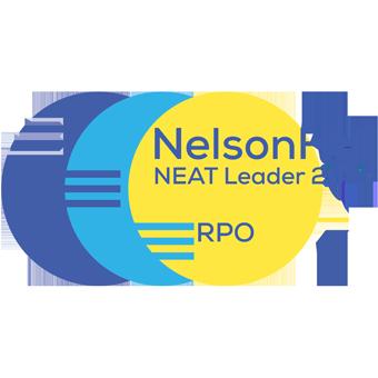 NelsonHall NEAT Leader